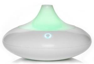 ZAQ Dew Litemist Aromatherapy Essential Oil Diffuser White