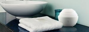 ZAQ Mini One Travel Litemist Aromatherapy Essential Oil Diffuser White