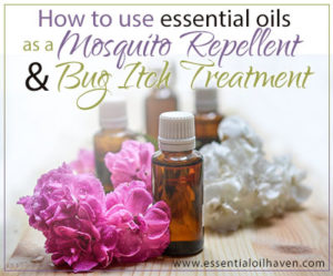 How To Use Essential Oils as a Mosquito Repellent & Bug Itch Treatment