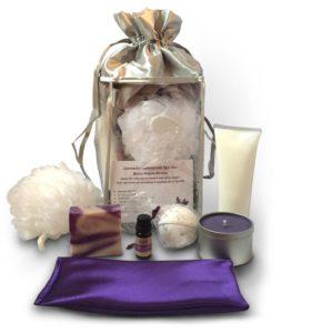 Lavender essnetial oil gift set