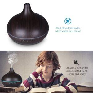 dark wood essential oil diffuser