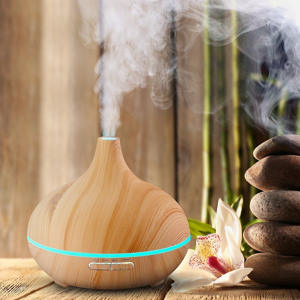 Aroma Oil Diffuser ~ Archeer ml essential oil diffuser review