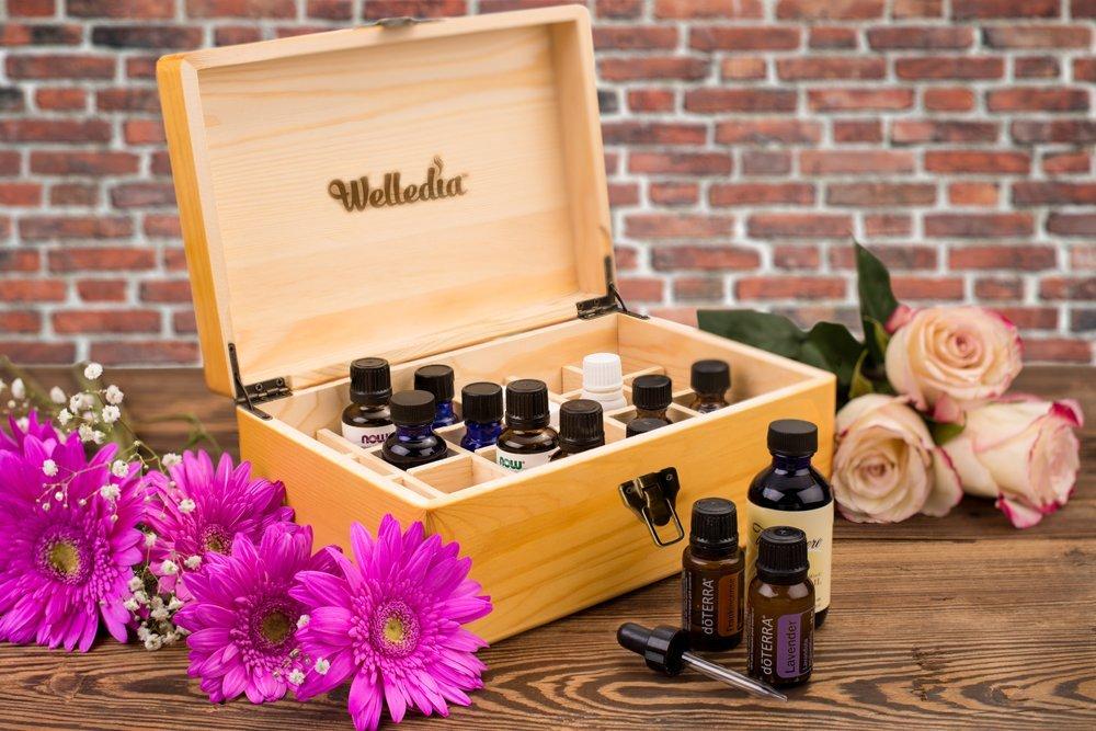 Essential Oil Storage Wooden Box