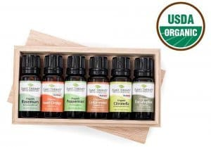 Plant Therapy Certified Organic Oils Set