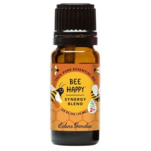 ok for kids bee happy essential oil by Eden's Garden