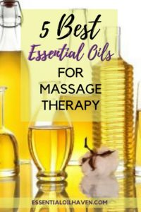 essential oil massage