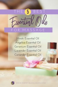 top 5 essential oils for massage