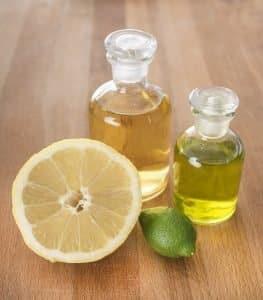 lemon essential oil for skin care