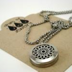 Essential Oil Diffuser Necklace Review for Drops of Joy Signature Sunburst 18″ Necklace