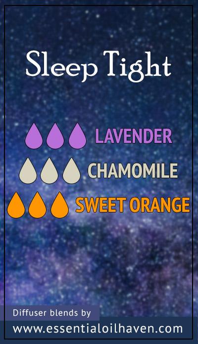 essential oil blend for better sleep