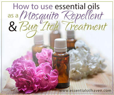 essential oils as mosquito repellent