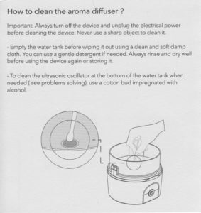 cleaning the alpha pilgrim diffuser