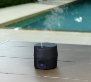 pilgrim alpha essential oil diffuser used in a spa