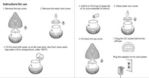 teo diffuser instructions