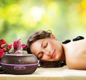 aromatherapy diffuser use in spa