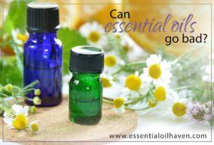 shelf life of essential oils