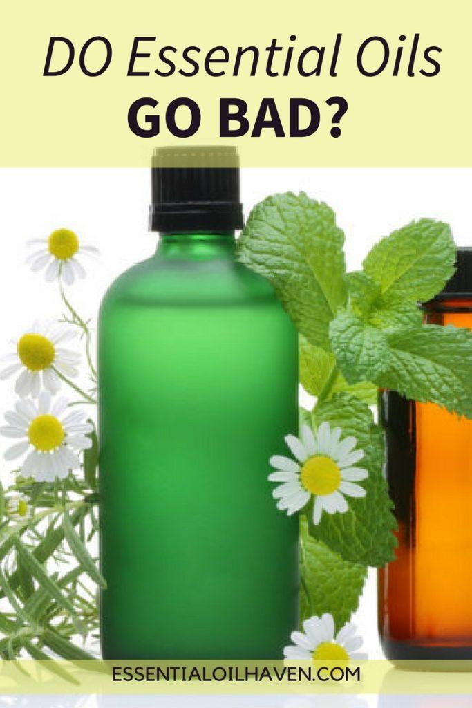essential oils shelf life