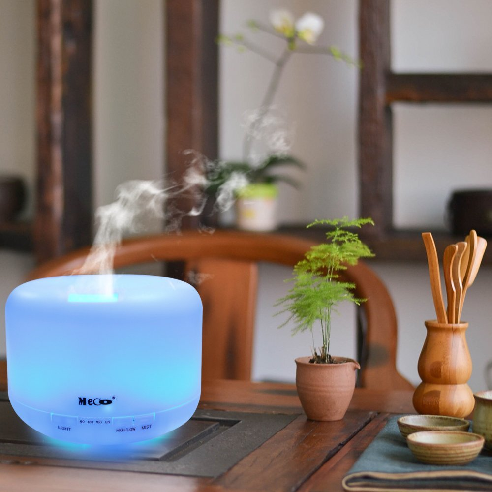 Meco 500ml Aromatherapy Essential Oil Diffuser Review