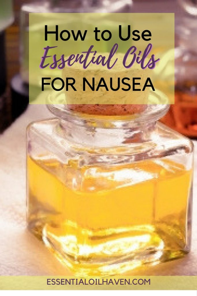 Essential Oils For Nausea Vomiting Motion Sickness