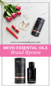 MEVEI Luxury Essential Oils Brand Review