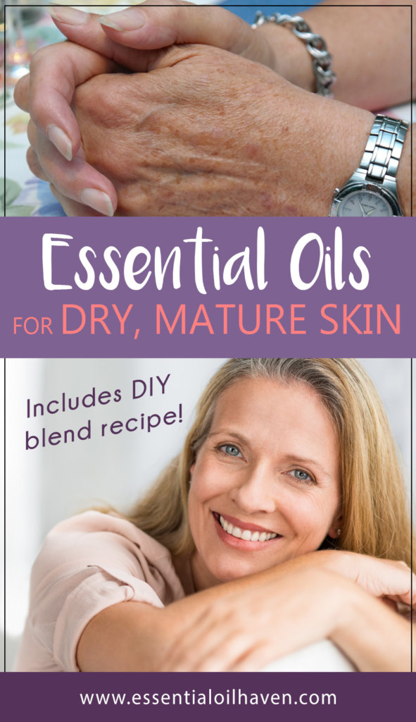 essential oils for itchy dry mature skin