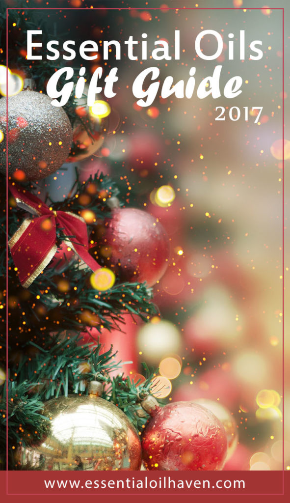essential oils gift guide 2017