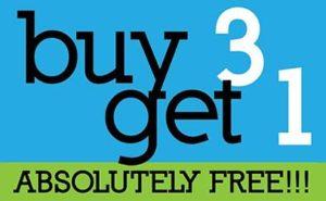 buy 3 get 1 free promo