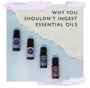 Is It Safe To Ingest Edens Garden Essential Oils?