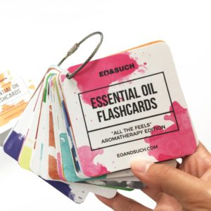 Essential Oil Flash Cards