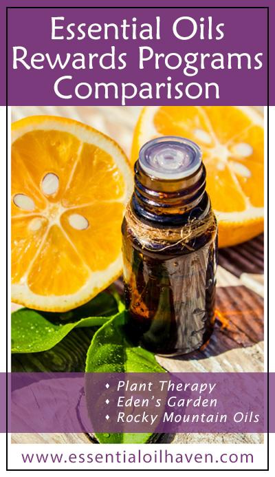 essential oils customer loyalty rewards comparison