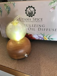 nebulizing essential oil diffuser