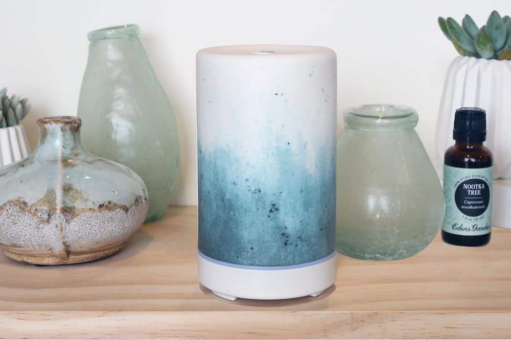 Electric Aroma Stone Diffuser ~ Edens garden ceramic diffuser review easy to use ml