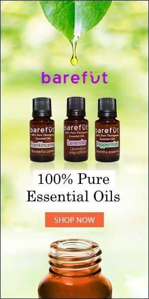 Barefut Essential Oils 100% Therapeutic Grade