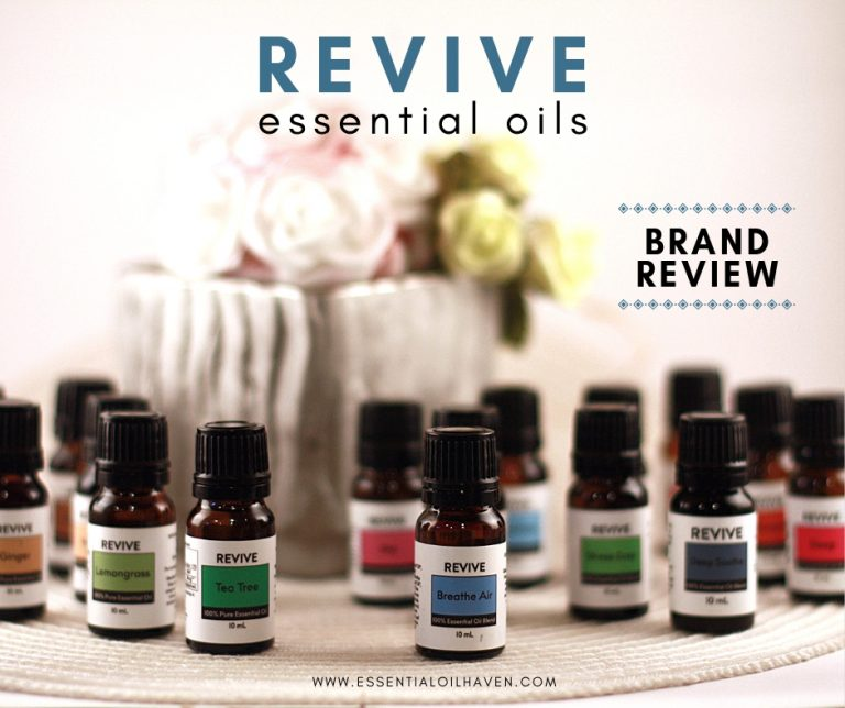 REVIVE oils brand reviews