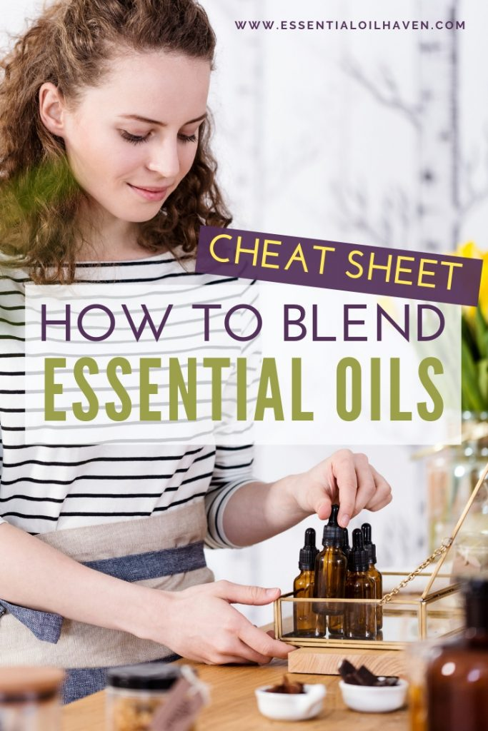 blending essential oils at home