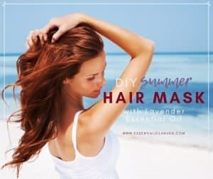 essential oils hair mask