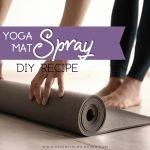 essential oils yoga mat spray