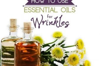 essential oils for deep wrinkles on face