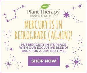 Mercury Retrograde is BACK! Shop the Essential Oil Favorite While Supplies Last, Only at Plant Therapy!
