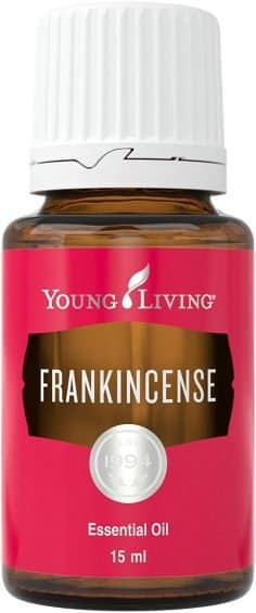 young living frankincense 15 ml essential oil bottle