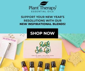 Ready...Set...Go! Get NEW Inspirational Blends to Support Your New Year's Resolutions, Only at Plant Therapy!